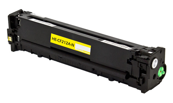 CF212A Hewlett-Packard Compatible Toner, Yellow, 1.8K Yield