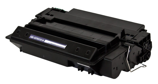 Q7551X Micr Compatible Toner, MICR, Black, 13K High Yield