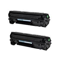 83A Hewlett-Packard Compatible Toner, Black, 1.5K Yield *2 pcs