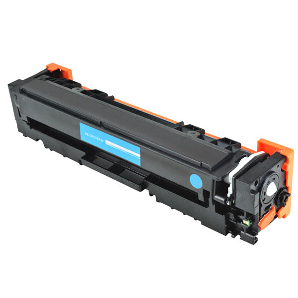 202X Hewlett-Packard Compatible Toner, Cyan, 2.5K High Yield