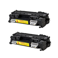 CF280A Hewlett-Packard Compatible Toner, Black, 2.7K Yield *2 Pack