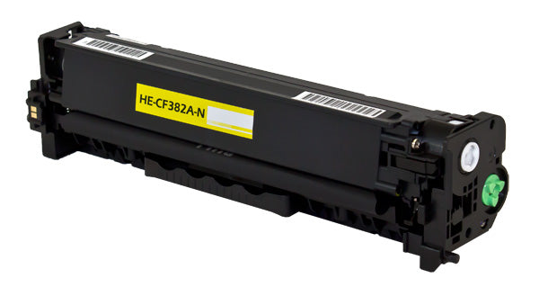 CF382A Hewlett-Packard Compatible Toner, Yellow, 2.7K Yield