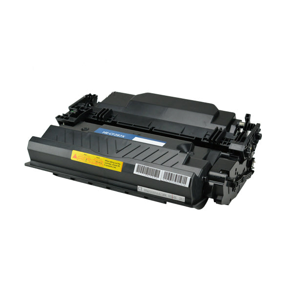 87X Hewlett-Packard Compatible Toner, Black, 18K High Yield