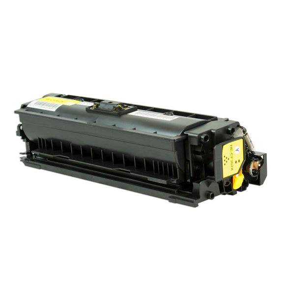 508X Hewlett-Packard Compatible Toner, Yellow, 9.5K High Yield