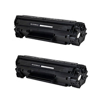 85A Hewlett-Packard Compatible Toner, Black, 1.6K Yield *2 Pack