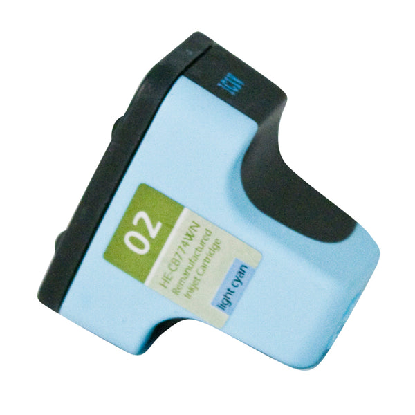 C8774WN Hewlett-Packard Inkjet Remanufactured Cartridge, Light Cyan, 10ML