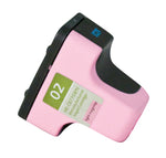 02 Hewlett-Packard Inkjet Remanufactured Cartridge, Light Magenta, 10ML