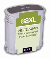 C9396AN Hewlett-Packard Inkjet Remanufactured Cartridge, Black, 66.5ML H.Yield