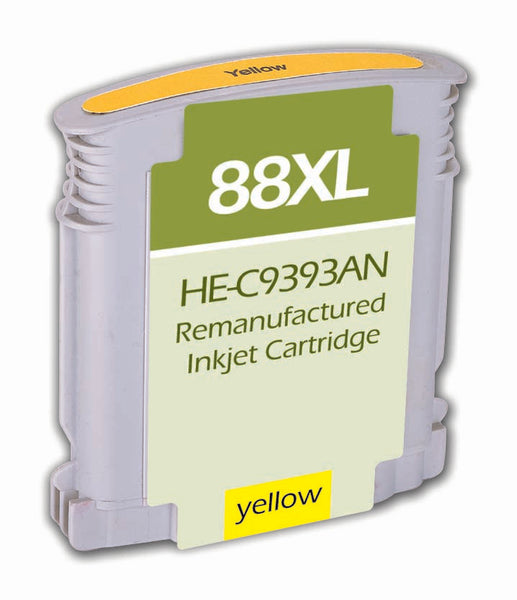 C9393AN Hewlett-Packard Inkjet Remanufactured Cartridge, Yellow, 22.8ML H.Yield