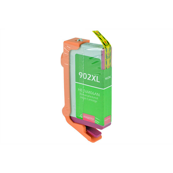 902XL Hewlett-Packard Inkjet Remanufactured Cartridge, Magenta, 9ML H.Yield