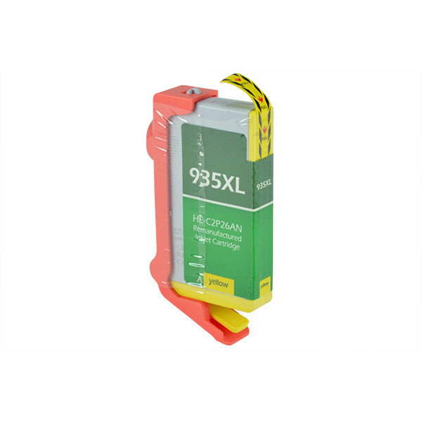 C2P26AN Hewlett-Packard Inkjet Remanufactured Cartridge, Yellow, 11ML H.YieldReads Ink Volume