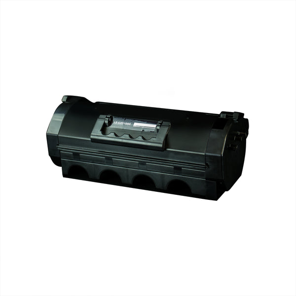 521 Lexmark Compatible Toner, Black, 6K Yield