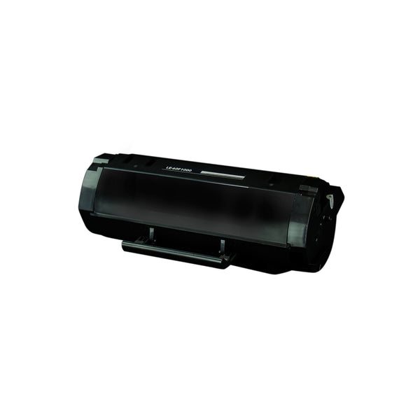 601 Lexmark Compatible Toner, Black, 2.5K Yield