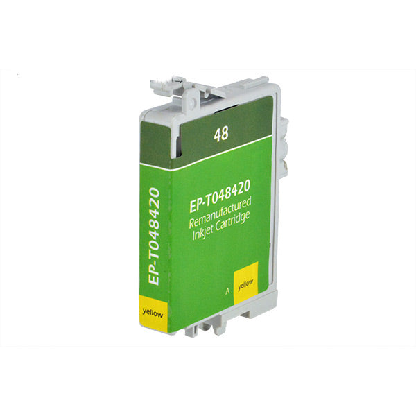 T0484 Epson Inkjet Remanufactured Cartridge, Yellow, 16ML