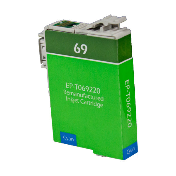 T069220 Epson Inkjet Remanufactured Cartridge, Cyan, 8ML