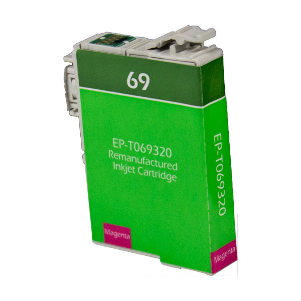 69 Epson Inkjet Remanufactured Cartridge, Magenta, 8ML