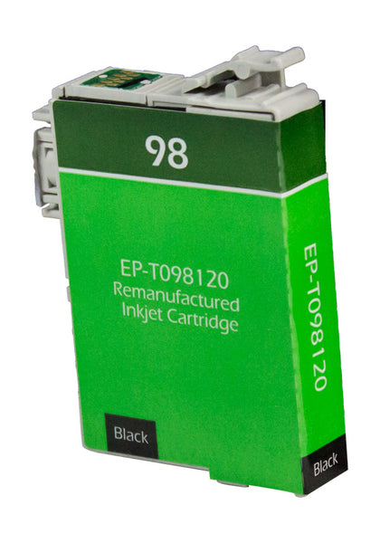 T0981 Epson Inkjet Remanufactured Cartridge, Black, 11ML