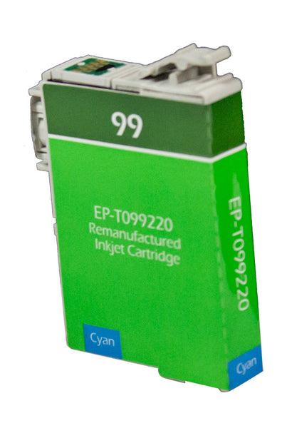 T099220 Epson Inkjet Remanufactured Cartridge, Cyan, 8ML