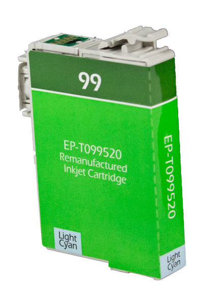 T098520 Epson Inkjet Remanufactured Cartridge, Light Cyan, 8ML