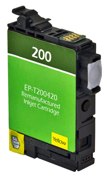 200XL Epson Inkjet Remanufactured Cartridge, Yellow, 7.5ML