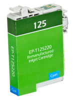 T125220 Epson Inkjet Remanufactured Cartridge, Cyan,  6.7ML