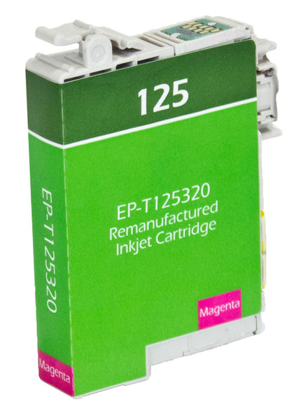 125 Epson Inkjet Remanufactured Cartridge, Magenta,  6.7ML
