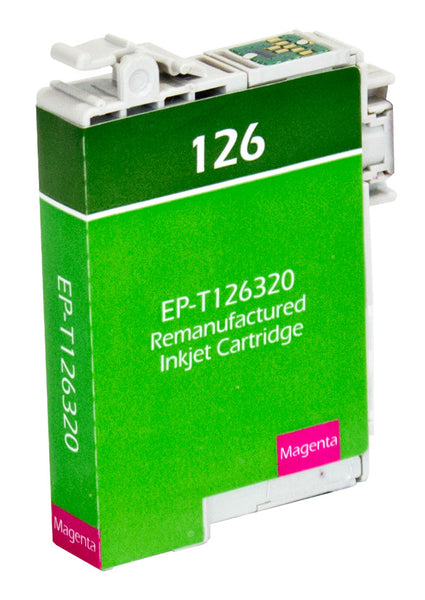 126 Epson Inkjet Remanufactured Cartridge,  Yellow,  8.2ML