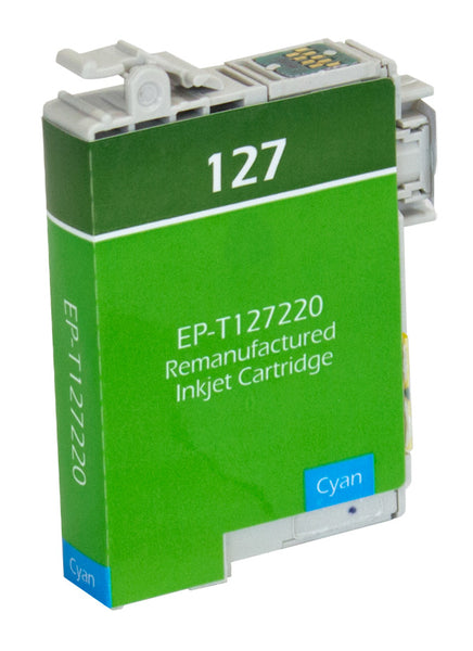 T127220 Epson Inkjet Remanufactured Cartridge, Cyan, 11.7ML