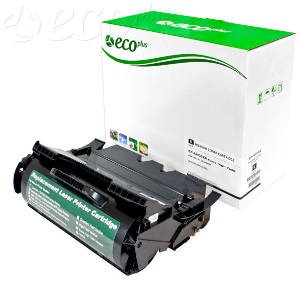64435XA Lexmark Remanufactured Cartridge, Black, 32K Extra High Yield