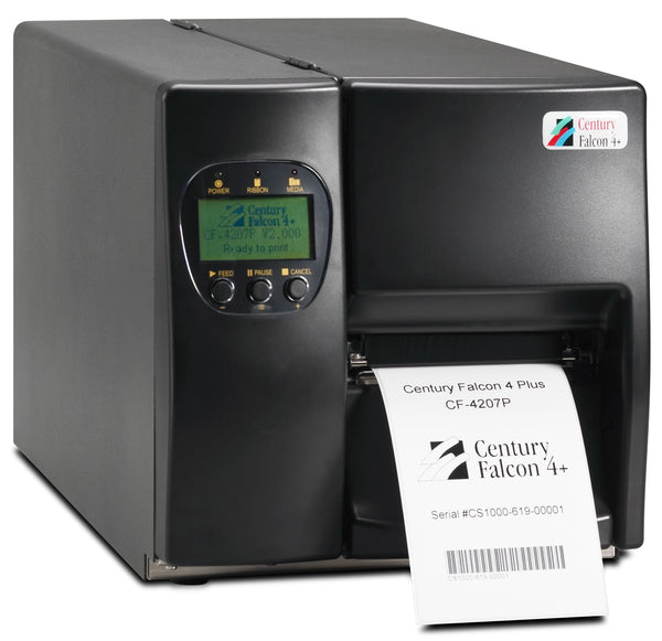 HSS-CF-4207P Hot Swap Saver: NEW CF-4207P Century Falcon 4 Plus printer, 203dpi