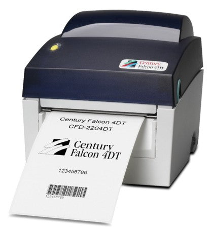 HSS-CFD-4204DT Hot Swap Saver: NEW CFD-4204DT Century Falcon 4DT printer, 203 dpi