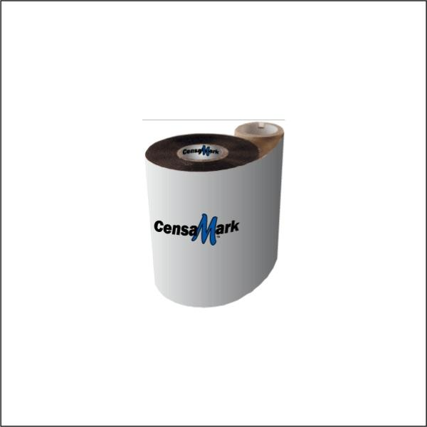 CM3400064450ZE - CensaMark 3400 Premium Resin Thermal Ribbon - 2.52 in X 1476 ft - CSO - 24 Rolls per Case