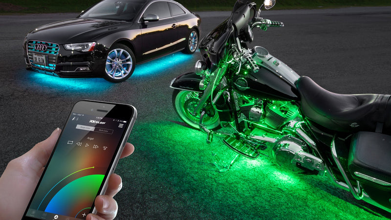 Next Level Bluetooth Controlled XK Glow LED Lighting