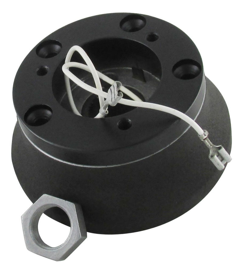 Installation Kit-Black Powder Coat Finish - Includes 3:5 Adapter Ring & Nut