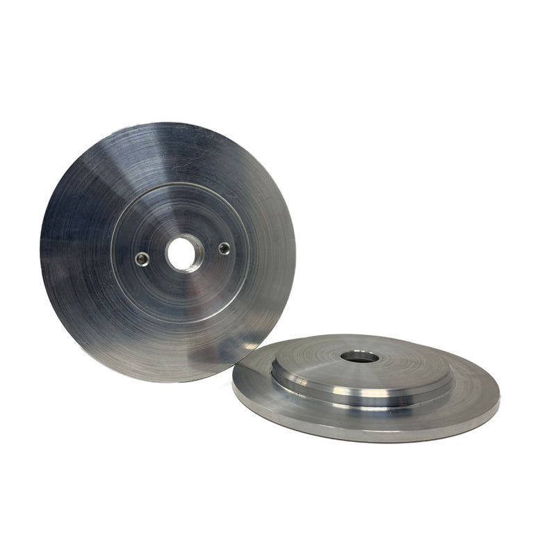 Airway Buff Aluminium Centering Flange 14mm metric