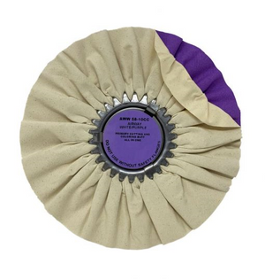 WHITE/PURPLE CUT & COLOR AIRWAY 10″