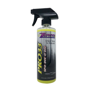 PRO-33 SPO-DEE-O-DEE SPRAY WAX & POLISH