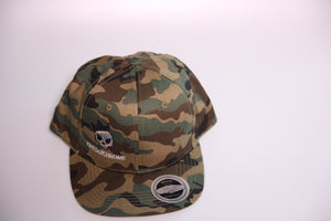 Kings of Chrome flat peak snap back Hat - Camo