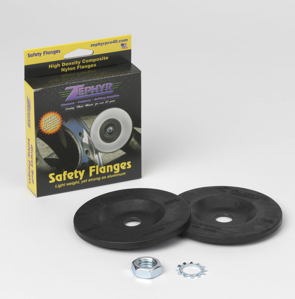 "AIRWAY BUFF SAFETY FLANGE KIT. MANDATORY FOR USE WITH 8"" & 10"" AIRWAYS"