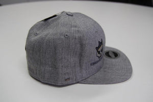 Kings of Chrome flat peak fitter players Hat - Light Grey