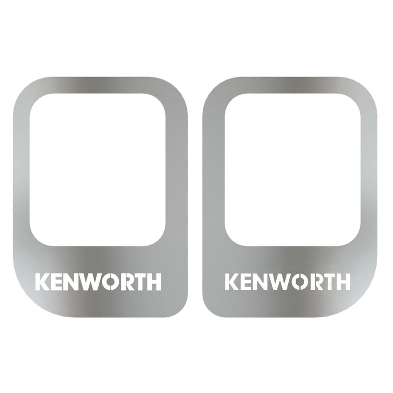 Kenworth Door Handle Trim with Kenworth Cutout