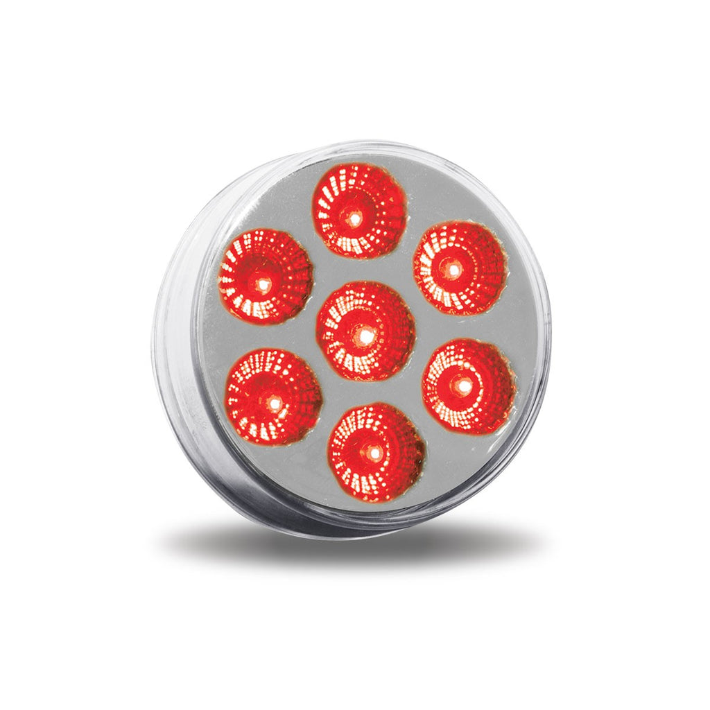 "2"" DUAL REVOLUTION RED MARKER TO GREEN AUXILIARY LED LIGHT"