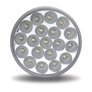"4"" Dual Red/White Stop, Turn & Tail LED (19 Diodes)"