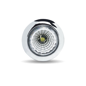 "3/4"" Round 1LED Amber to Blue Dual Revolution"