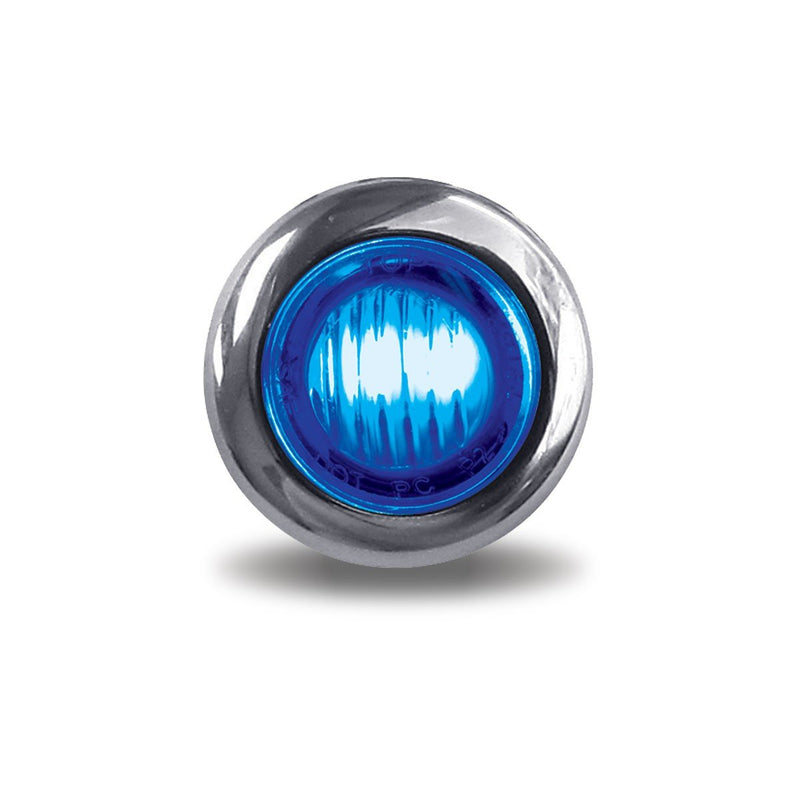 Mini Button Dual Revolution Red/Blue LED