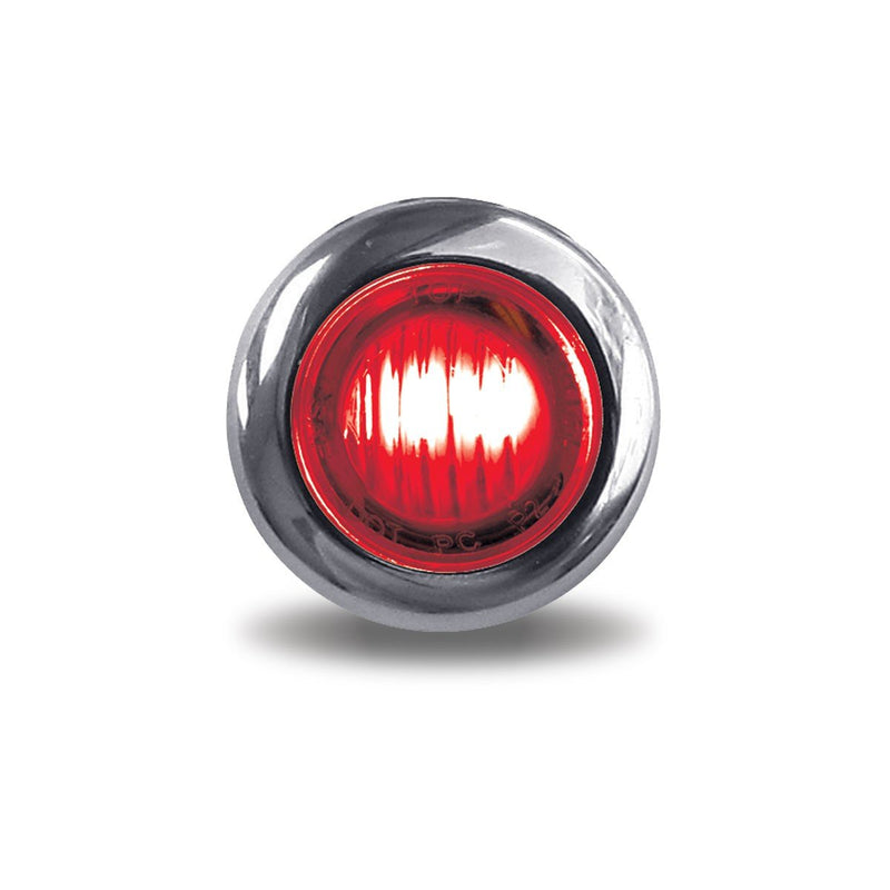 Mini Button Dual Revolution Red/Purple LED