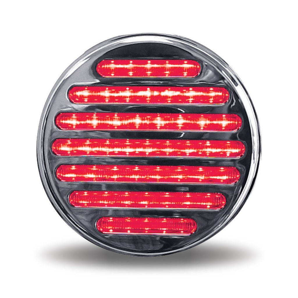 "4"" Dual Flatline Red/White LED (49 Diodes)"