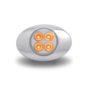 Marker M3 Style Dual Revolution Amber/Blue LED (4 Diodes)