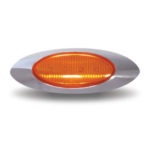 Clear Amber LED Replacement for Panelite M1 (4 Diodes)  12v only