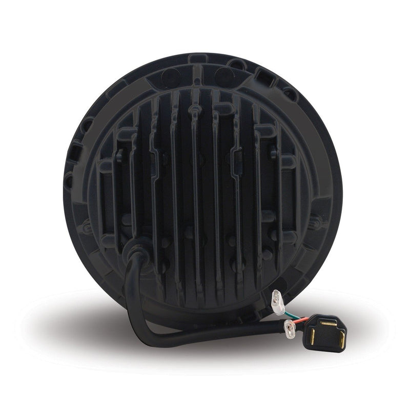 "7"" Round LED Headlight with Adapter Plug (3200 Lumens) - DOT Approved"